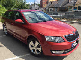 Skoda Octavia, 2016 (16) Red Estate, Semi auto Diesel, 194,000 miles