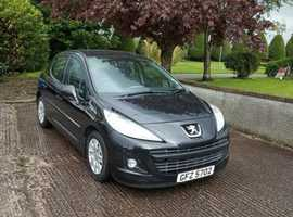 Peugeot 207, 2011 (11) Black Hatchback, Manual Petrol, 31,000 miles