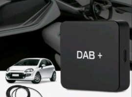 Car DAB 004 DAB Box Digital Radio Antenna Tuner Car Radio Android 5.1 Above W4M3 NEW IN BOX