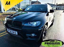 BMW X6, 2008 (58) Black Coupe, Automatic Diesel, 125,419 miles