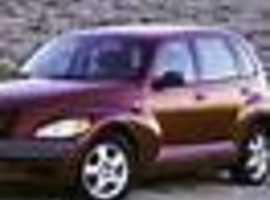 Chrysler Pt Cruiser, 2001 (Y) Red Saloon, Manual Petrol, 84,300 miles