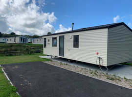 Cheap 2 Bed Static Caravan near Bude - Sleeps 6 - Peaceful 12 month Park - Free Site Fees for 20/21