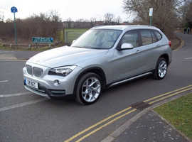 BMW X1, 2014 (14) Silver Estate, Automatic Diesel, 17,000 miles