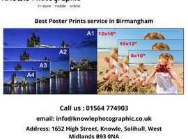 Best Poster Print service in Birmangham