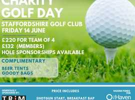 Tee off for The Haven - Charity Golf Day