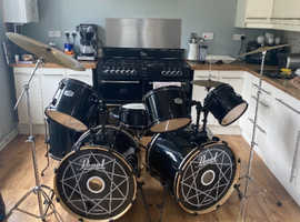 Pearl Drum kit joey jordison limited edition
