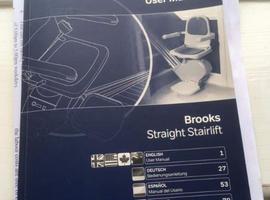 Stairlift Porthcawl Brooks Acorn Slimline stairlifts £599 porthcawl