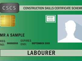 CSCS Labourers