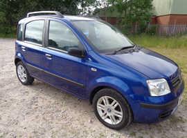Fiat Panda, 2007 (57) Blue Hatchback, Manual Petrol, 94,000 miles