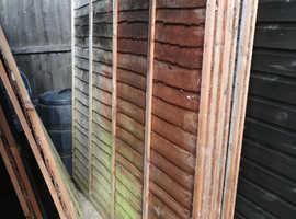12 Fence Panels