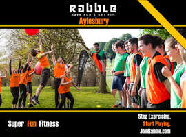 Stop Exercising, Start Playing - Join Rabble