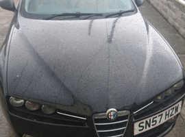Alfa Romeo 159, 2007 (57) Black Saloon, Manual Petrol, 91,000 miles
