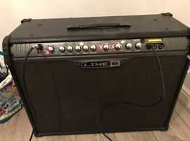 Line 6 spider 3 150w guitar amplifier with foot switch
