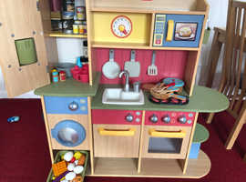Little Tikes Wooden Play Kitchen With Loads Of Accessories