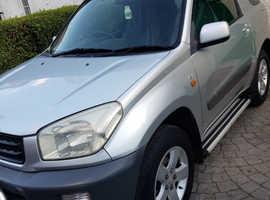 Toyota Rav4, 2002 (51) Silver Estate, Manual Petrol, 98,000 miles