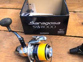 Saragosa sw8000 reel / penn infinity 2