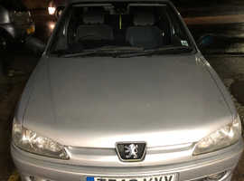 Peugeot 306, 1999 (T) silver hatchback, Automatic Petrol, 102,200 miles