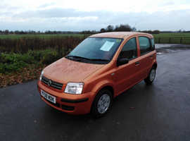 Fiat Panda, 2008 (08) Orange Hatchback, Manual Petrol, 68,000 miles