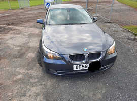 BMW 5 Series, 2010 (59) Grey Saloon, Manual Diesel, 214,000 miles