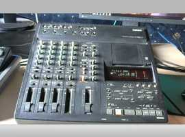 Yamaha md4 mini disc recording 4 track with mixer