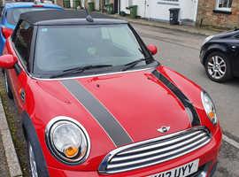 Mini MINI, 2012 (12) Red Convertible, Manual Petrol, 67,853 miles