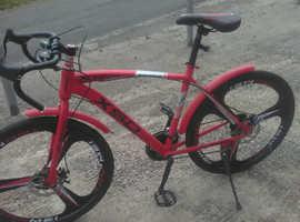 Red male bike