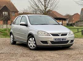 Vauxhall Corsa, 2006 (56) Silver Hatchback, Manual Diesel, 92,191 miles, MOT FEB  2022