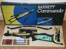 NEW!!! Barnett COMMANDO crossbow collectible