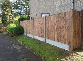 fencing gates pergolas and decking!