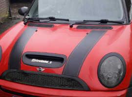 Mini MINI, 2004 (54) Red Hatchback, Manual Petrol, 110,000 miles
