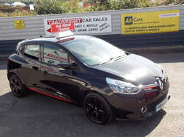 2014/14 Renault Clio 0.9 TCE Dynamique Media-Nav finished in Phantom Black Metallic., 78,540 miles