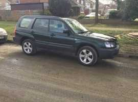 Subaru Forester, 2005 (05), Manual Petrol, 121,117 miles