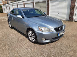 Lexus Is, 2007 (57) Blue Saloon, Automatic Petrol,  HISTORY 6 MONTHS WARRANTY PX WELCOME