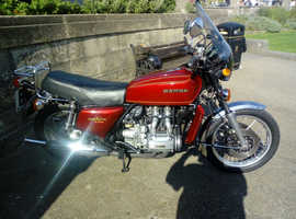 Fantastic 1977 Honda GL1000K1 Goldwing. UK Bike. RED. Lovely Patina. Show winner 2019.