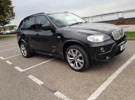 BMW X5, 2010 (10) Black Estate, Automatic Diesel, 82,000 miles