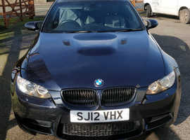 BMW M3 Series, 2012 (12) Black Coupe, Semi auto Petrol, 73,000 miles