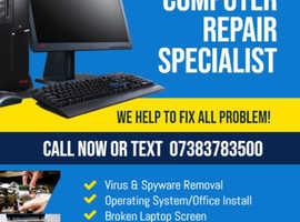 PC & Laptop Repairs & Services - London