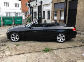 BMW 320, 2008 Black Convertible, Automatic Diesel, 90159 miles