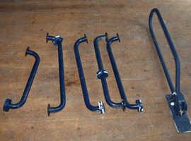 Hand rails and toilet rail