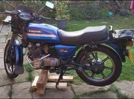 Kawasaki GT550 G4 1989 project