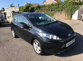 Ford Fiesta, 2009 (09) Black Hatchback, Manual Diesel, 82,227 miles