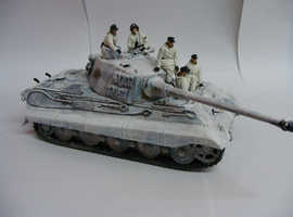 1:35th. Tamiya. German WW2. SdKfz 182. PzKpfw VII King Tiger.