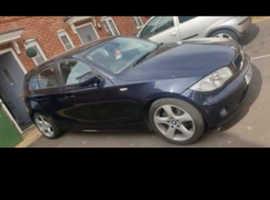 BMW 1 series, 2006 (56) Blue Hatchback, Manual Petrol, 68,000 miles