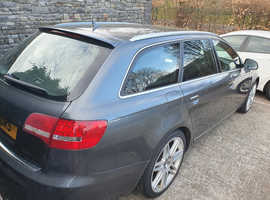 Audi A6, 2011 (11) Grey Estate, Manual Diesel, 118,766 miles