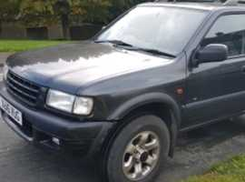Vauxhall Frontera, 2001 (X), Automatic Diesel, 78,000 miles