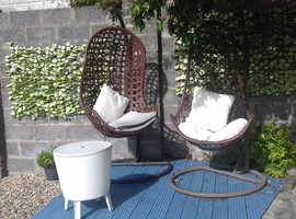 Basket Swing seats and cooler