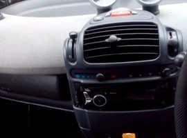 Smart City Coupe, 2003 (03) Black Coupe, Semi auto Petrol, 127,411 miles