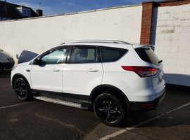 Ford Kuga, 2016 (16) White Hatchback, Manual Diesel, 36,600 miles