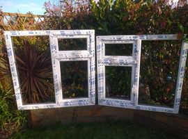 PVCU window frames