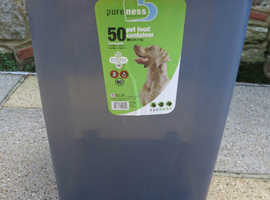 Wheeled Pet Food container - Capacity 50lbs